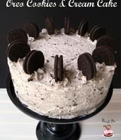 Oreo cookies and cream cake