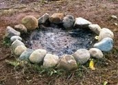 Step 2 Make an Area for the Fire Pit