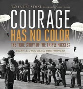 April Book Club Pick: Courage Has No Color: The True Story of the Triple Nickles : America's First Black Paratroopers