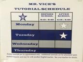 Mr. Vice's Tutorials