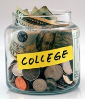 Pay cash for COLLEGE