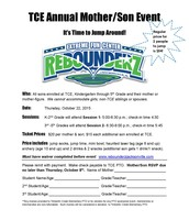 Mother/Son Event at Rebounderz is Fast Approaching!