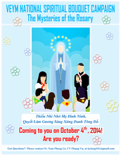 National Spiritual Bouquet - Coming soon to you October 4th, 2014!