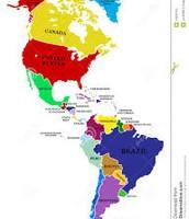 Norteamérica y Sudamérica