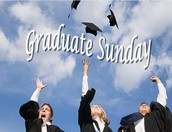 Graduate Sunday!