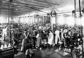 (Factories During the Industrial Revolution)