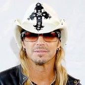 hes a heavy metal and glam metal known as Bret Micheal