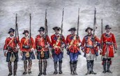 The British soldiers
