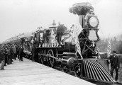 The first ever train in the US