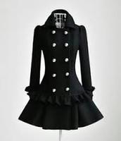 un manteau noir