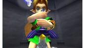 The legend of Zelda Ocarina of Time.