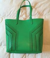 FILLMORE TOTE - KELLY GREEN Orig. $138  Sale $69