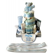 Personalised Baby Nappy Cakes
