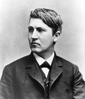 Thomas Edison as a Young age