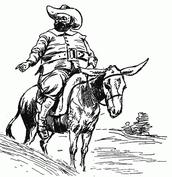 Sancho es Montando un Asno