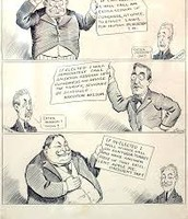Political Cartoon of William Taft