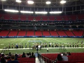 Band excels at Peach Bowl!