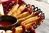 Spicy firecracker shrimp