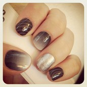Fade To Black & Diamond Dust Sparkle