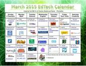 March Technology Calendar