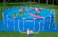 15-ft by 42-in pool