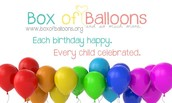 Box of Balloons