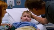 Colton in the hospital