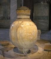 A Marble Jar Found Inside the Hagia Sophia