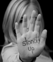 Stand up. ( Cyber-bullying )