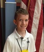 1st Place Spelling Bee Winner - Nicholas Oeding