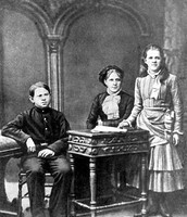 Fyodor Dostoevsky and a few of his siblings
