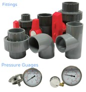fittings and Pressure Guages