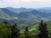 Appalachian mountain