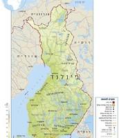 המפה של פינלנד