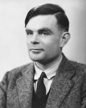 This is Alan Turing in 1951, 3 years before he died