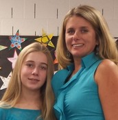Mrs. Barton with daughter Juliann