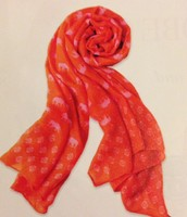 Pink/Orange Elephant Scarf
