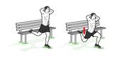 Bulgarian slip squats