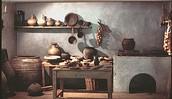 Example of Roman kitchens
