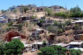Mexicans typical housing conditions