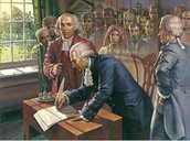sighning the constitutions