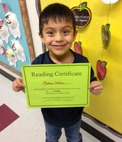 Congrats Matthew! He graduated from Reading Recovery!