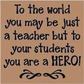 You have the toughest job!  We appreciate you!!