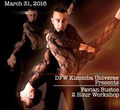 Dallas DFW Kiz U Int. Kiz Workshop with Favian