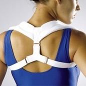 Treatments for bad posture