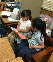 First Graders Celebrate Their Writing