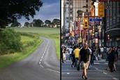 ciudad vs país