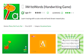 iWriteWords (Handwriting Game)