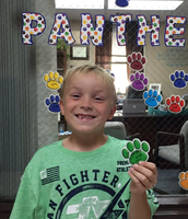 1st Grade Positive Panther