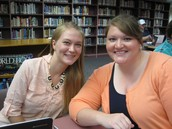 Jenessa Maudal, HS English, with Mentor Abby Bloomquist!